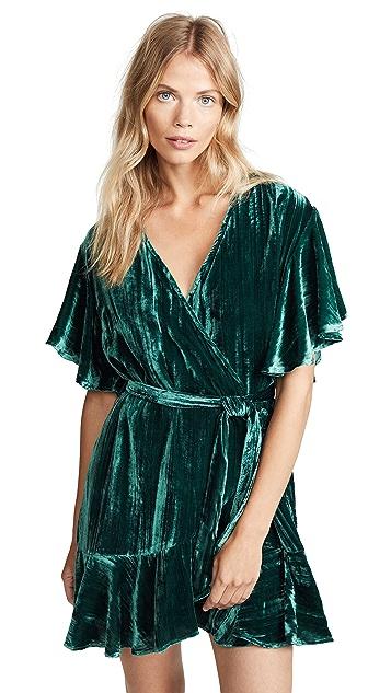BB Dakota Night Fever Wrap Dress