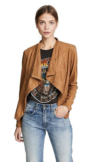 BB Dakota Nanette Faux Suede Jacket