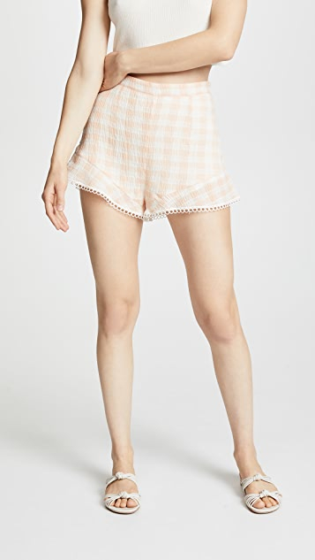 BB Dakota Sami Gingham Shorts