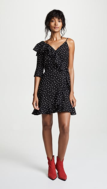 BB Dakota JACK Hotline Bling One Sleeve Dress