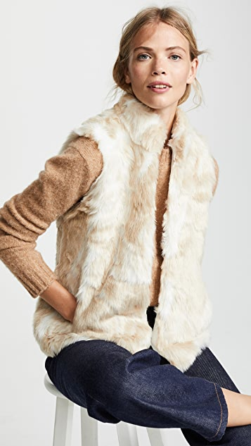 BB Dakota Jack by BB Dakota Fur What Faux Fur Vest