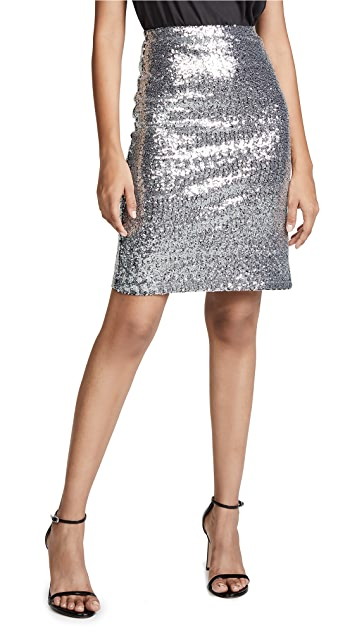 BB Dakota All Night Sequin Skirt