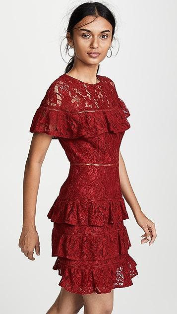BB Dakota Aphrodite Ruffle Dress