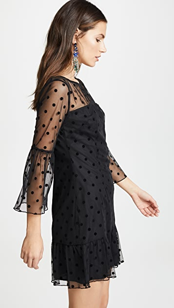 BB Dakota X Marks The Spot Mesh Dress