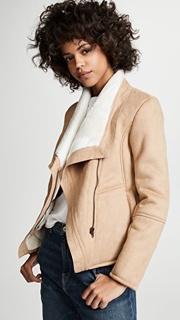 BB Dakota Faux Suede Jacket
