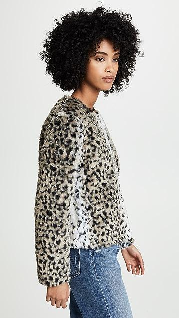 BB Dakota Wild Thing Faux Fur Jacket