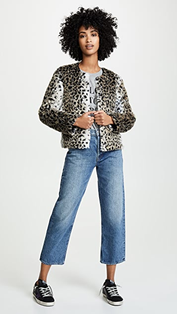 BB Dakota Wild Thing Faux Fur Jacket