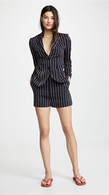 BB Dakota Power Stripe Shorts