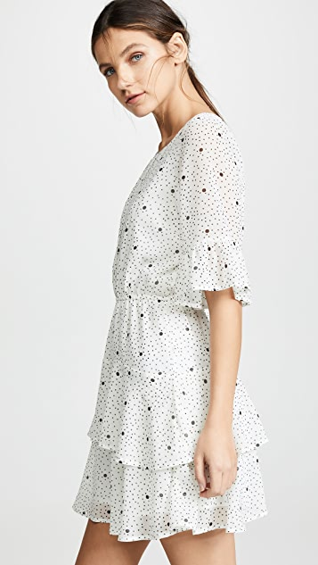 BB Dakota Dots On Dots Dress