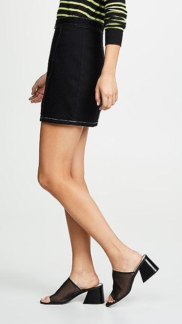 BB Dakota Zip To It Skirt
