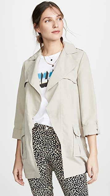 BB Dakota Jack By BB Dakota Private Eyes Trench Coat