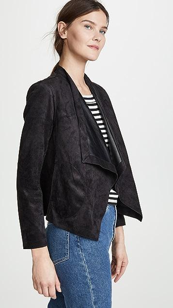 BB Dakota Teagan Reversible Drape Front Jacket