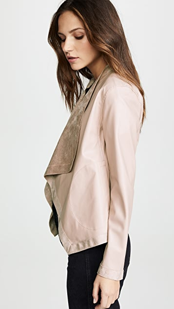 BB Dakota Teagan 双面穿前垂褶夹克