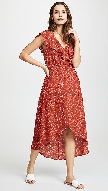 BB Dakota Jack By BB Dakota Bohemian Wrap-Sody Dress