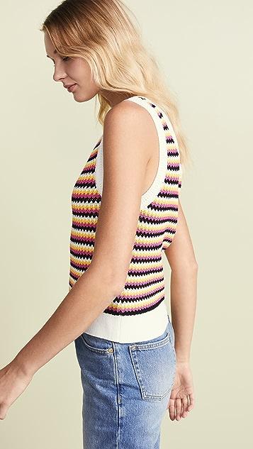 BB Dakota Lomard Street Crochet Sweater