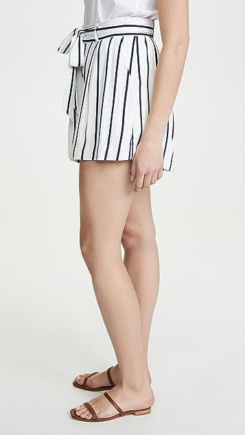 BB Dakota 右侧条纹短裤
