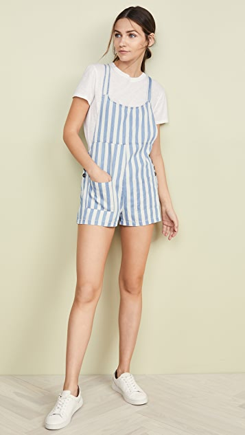 BB Dakota Jack By BB Dakota Sailor Shorts Overalls