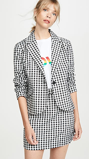 BB Dakota Gingham Style Jacket