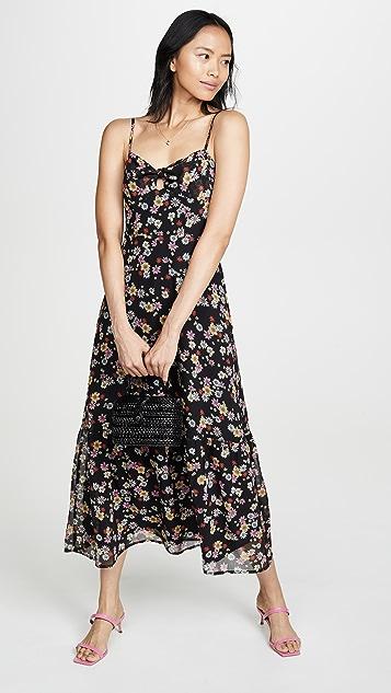 BBDakota Расклешенное платье с маргаритками