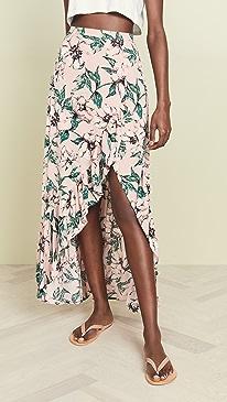 Jack By BB Dakota Tropical Paradise Skirt