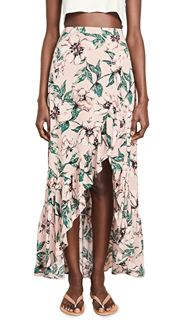 BB Dakota Jack By BB Dakota Tropical Paradise Skirt