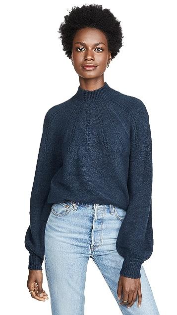 BB Dakota Live & Let Tie Sweater