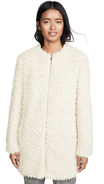 BB Dakota Soft Spot Faux Fur Jacket