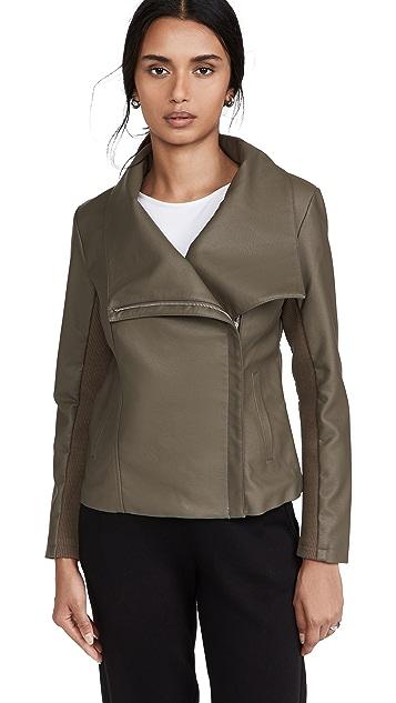 BB Dakota Up to Speed Vegan Leather Jacket