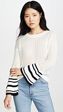 Jack By BB Dakota Like It Flare Sweater
