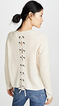 Jack By BB Dakota Tie Me Later Sweater