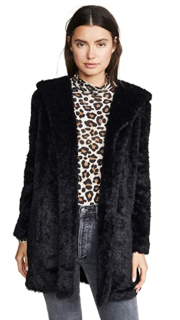 BB Dakota Jack By BB Dakota It's Shawl Good Faux Fur Jacket