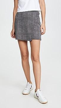 Jack By BB Dakota Plaid But True Skirt