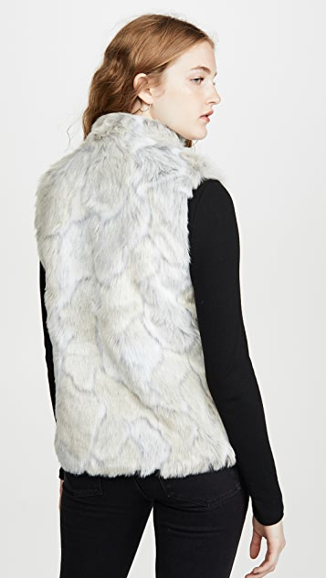 BB Dakota Jack By BB Dakota In A Furry Faux Fur Vest