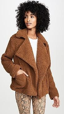 Jack By BB Dakota Soft Skills Faux Fur Jacket