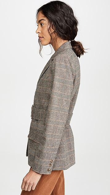 BB Dakota Belted Blazer