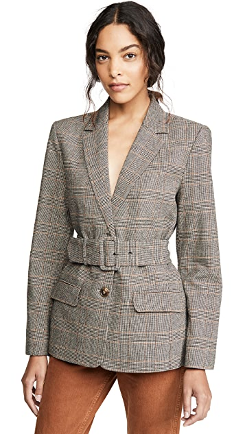 BB Dakota 配有腰带的夹克