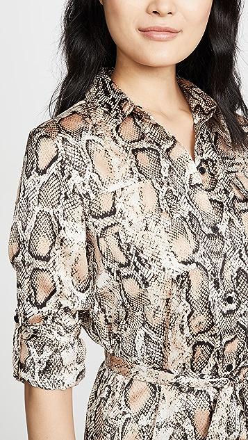 BB Dakota Python Print Shirtdress