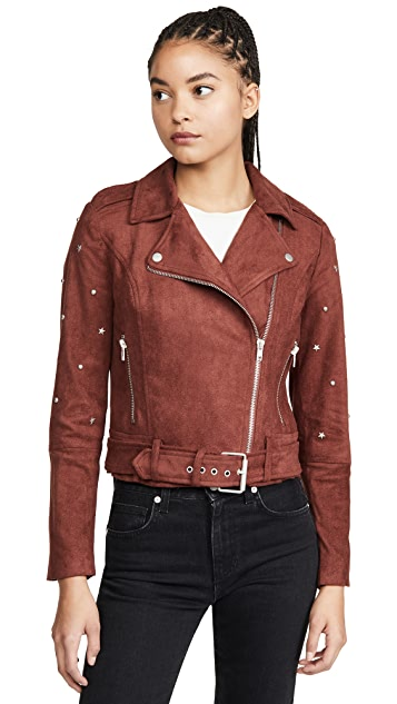 BB Dakota Love Walks In Faux Suede Jacket