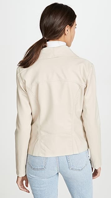 BB Dakota Up To Speed Vegan Leather Jacket