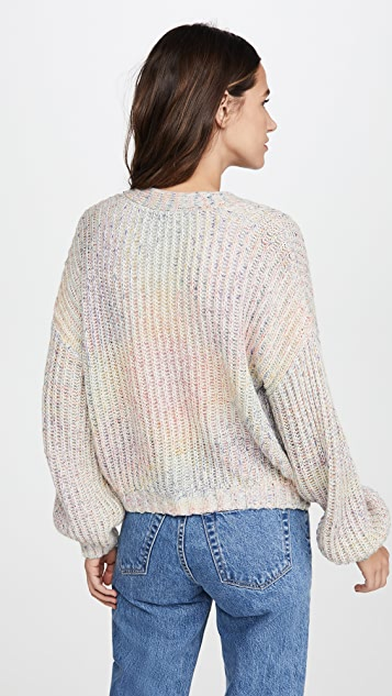 BB Dakota Double Rainbow Cardigan