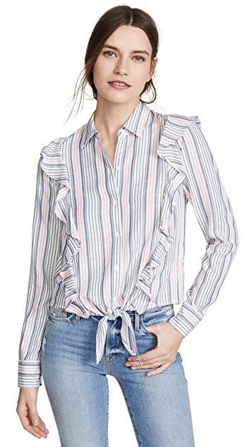 BBDakota Рубашка на пуговицах Jack By BB Dakota Rider с оборками