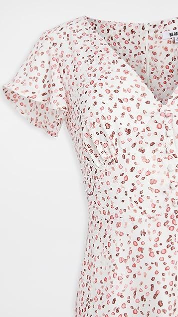 BB Dakota 厚实花瓣图案连衣裙