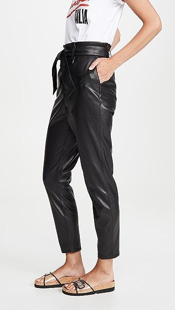 BB Dakota 仿皮纸包长裤