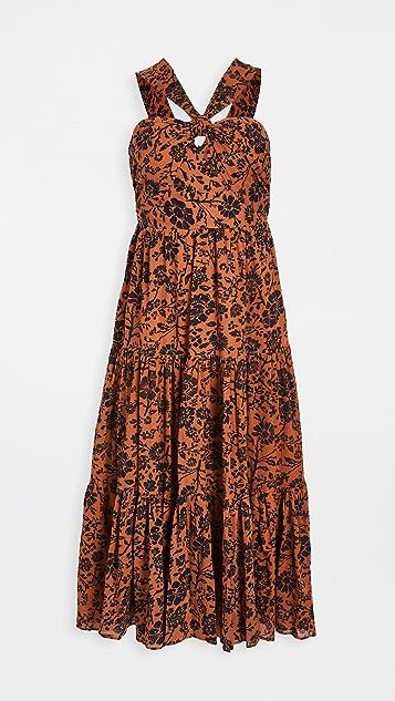 BB Dakota Batik A Peek 连衣裙