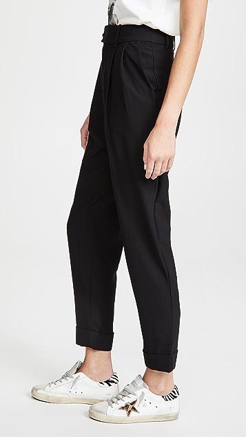 BB Dakota Crop Motion 裥褶中长裤