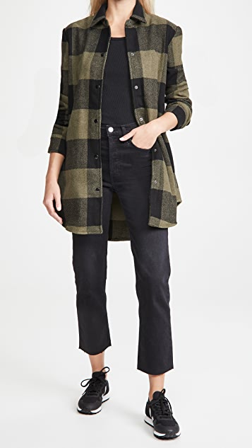 BB Dakota Eldridge Plaid Jacket