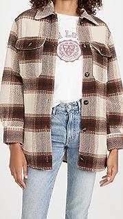 BB Dakota Lucky Lumber Plaid Jacket