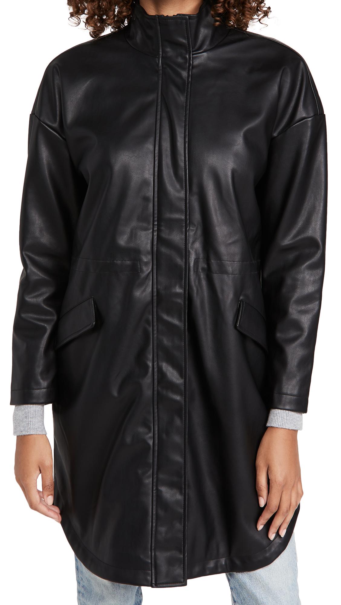 BB Dakota No Mo' Faux-Mo Vegan Leather Jacket