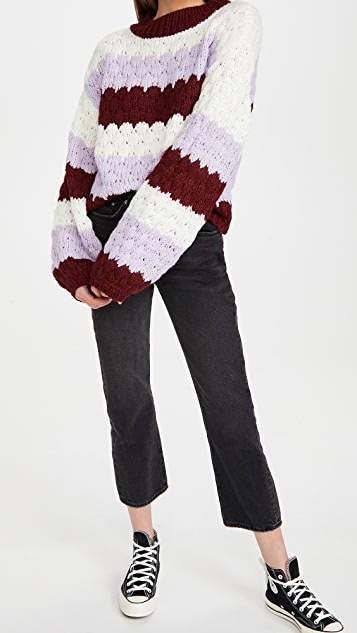 BB Dakota 热气球条纹毛衣