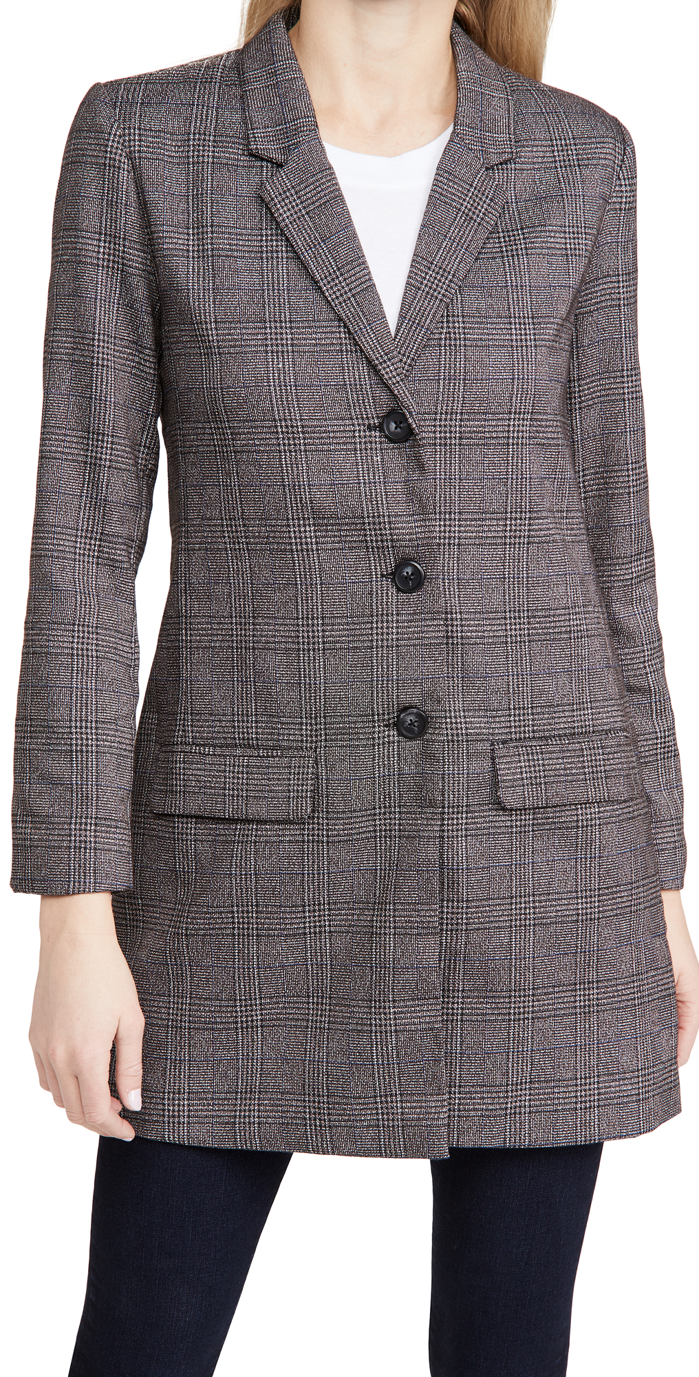 BB Dakota Plaid As I Wanna Be Blazer